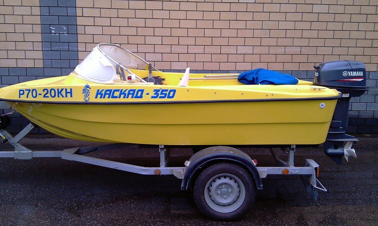 лодка каскад-430